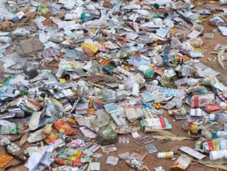 Plano de Gerenciamento de Resíduos Farmácia Valor Alto da Lapa - Plano de Gerenciamento de Resíduos de Laboratório