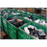 coleta de lixo eletrônico preço Vila Romana