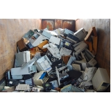 coleta de lixo eletrônico Parque Peruche