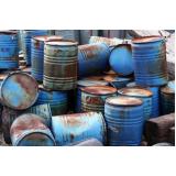 destinação de resíduos sólidos preço Vila Mariana