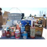 empresa de destinação de resíduos químicos Santo André