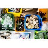 empresa de gestão de resíduo reciclável Capão Redondo