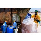 gerenciamento de resíduos contaminados Chora Menino