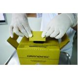 gerenciamento de transporte de resíduos hospitalares localização Santana de Parnaíba