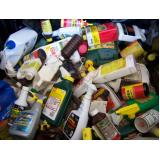 gerenciamento de transporte de resíduos perigosos Água Rasa
