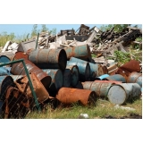 gerenciamento de transporte de resíduos sólidos localização Bairro do Limão
