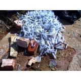 gestão de resíduos em hospitais Jardim Santa Terezinha