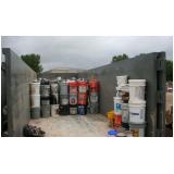 gestão de resíduos perigosos Ponte Rasa