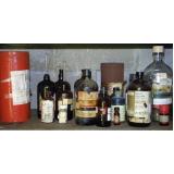 gestão de resíduos químicos Vila Albertina