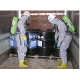 plano de gerenciamento de resíduos químicos Praia Grande