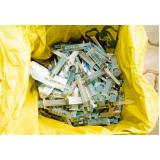 serviço de coleta de resíduos de saúde Cotia