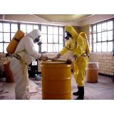 serviço de gerenciamento de resíduos químicos ABC