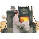 tratamento de resíduo por incineração Parque do Carmo