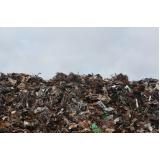 valor de gestão de resíduos industriais Grajau